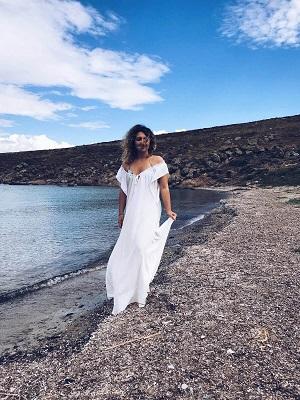 Bozcaada Akvaryum Otantik Bohem Elbise