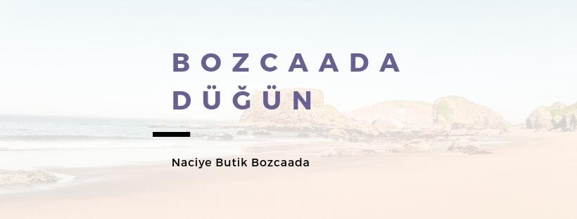 Bozcaada Düğün Resimi